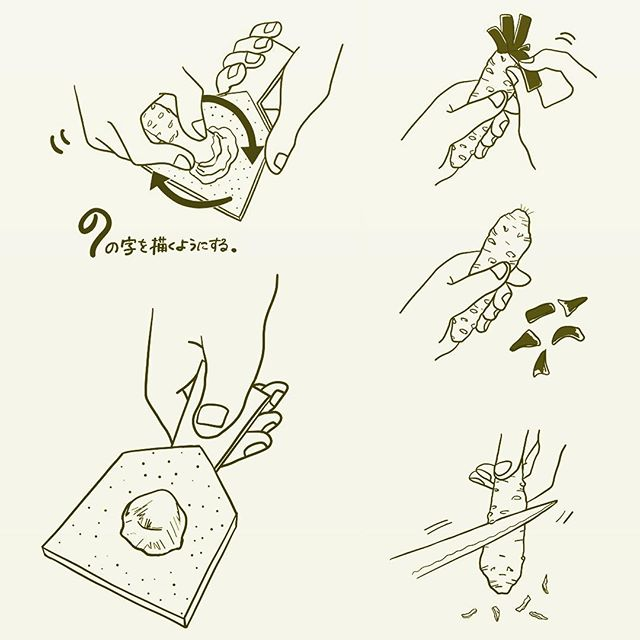 わさびを。より美味しく戴くためのイラスト。どうやら手ぬぐいや、包装紙になる予定らしい…。#わさび #ワサビ #山葵 #山本食品 #静岡 #イラスト #オーダーメイド #イラストレーター #イラストレーション #オリジナル #手ぬぐい